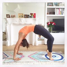"""Deliciously Ella on Twitter: """"Starting my day with some yoga and a spin class, best way to kick start a great week! Happy Monday everyone :) http://t.co/OIuoc6fPqb"""""""