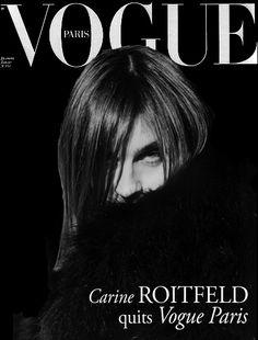 Carine Roitfeld - Vogue Paris
