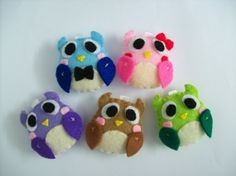 Cute Owl Keychain/Phone Charm/Magnet  Jacob Isabella by araleling, $5.00