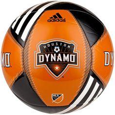 adidas Houston Dynamo MLS Team Soccer Ball