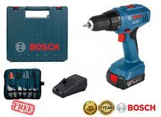 BOSCH GSR 1440-LI Professional 14.4V 1.3Ah Cordless Drill Driver Kit Bits New #Bosch