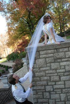 Tangled Inspired Wedding - Disney Wedding Inspiration