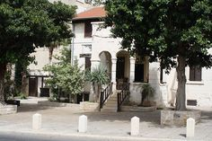 Haifa (Hefa) German Colony  looks like Central Texas