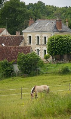 Farmhouse in Genille, France by Sarah of Thyme