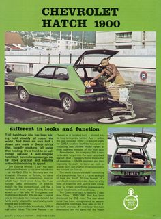 1976 Road Test of Chevrolet Hatch Mongrel, Car Makes, Muscle Cars, Vintage Cars, South Africa, Chevrolet, Engine, December, Content