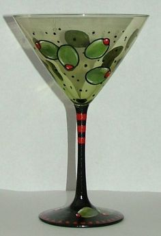 Olive. This puts a new meaning into our Martini Friday motto