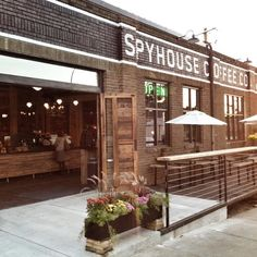 Spyhouse Coffee in Northeast Mpls.  An instant new fav! Gorgeous new digs, great vibe, good food.  Yay!
