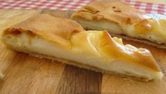 Γαλατόπιτα με αλεύρι - η βελούδινη Greek Beauty, Spanakopita, Apple Pie, Waffles, Brunch, Pizza, Cheese, Breakfast, Desserts