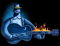 my blues is on fire #feelmyblues