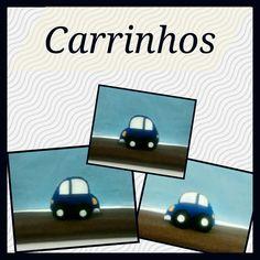 Lembrancinhas em feltro!!! #carrinhos