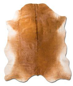 Alfombra piel de Vaca curtida al aceite con pelo por PuraPiel