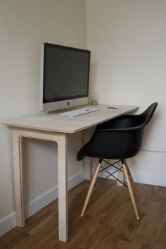 CNC Plywood Desk   Flickr - Photo Sharing!