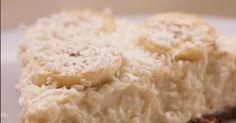 Kokos i banan to idealne połączenie. Spróbuj naszego przepisu na szybkie i smaczne ciasto.