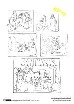 Weihnachtsgeschichte Weihnachten Lesen Schule Sprachförderung