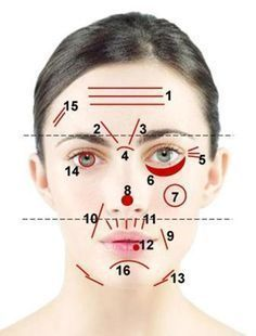 Face Mapping: How to read your lines and wrinkles. Our facial features can be a signal to what's going on inside our bodies. Health And Beauty Tips, Health And Wellness, Health Tips, Health Fitness, Beauty Secrets, Diy Beauty, Beauty Hacks, Beauty Advice, Yoga Facial
