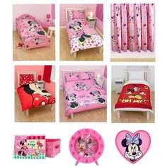 MINNIE MOUSE BEDROOM & BEDDING ACCESSORIES