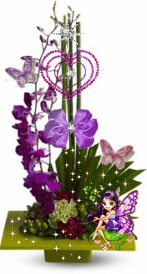 value of human life is measured by love~this came to me by my Sister In Christ, Debbie from British Columbia! Gif Animé, Animated Gif, Beautiful Butterflies, Beautiful Flowers, Happy Birthday Video, Good Night Gif, Flowers Gif, Floral Arrangements, Flower Arrangement