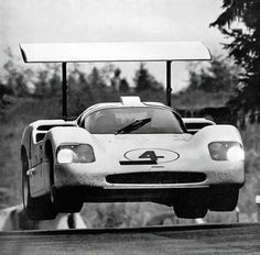 Chaparral challenges Ford, Ferrari, and Porsche in Europe. Technical insights of the 2F. Cool photos. If only…