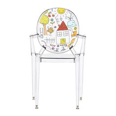 Childrenu0027s Lou Lou Ghost Chair   Sketch