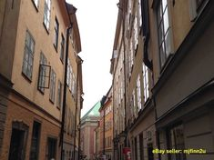 Photo Stockholm Old Buildings.