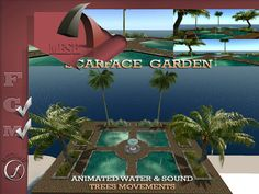 Scarface Decor Garden Copy Modify 80 impact