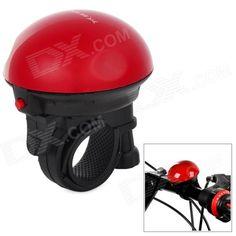 UFO Shape Bicycle Electronic Plastic Horn - Black   Red (2 x VAVTT LR1) Price: $5.30