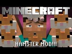 Minecraft Mod Showcase: LEGIT HAMSTERS MOD!!! [1.6.4]