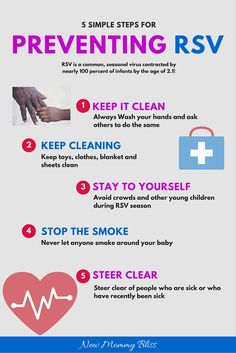 What to Know about RSV and 5 Steps to help Prevent It! #RSVAwareness #PreemieProtection