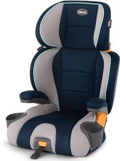 Chicco KidFit 2-in-1 Belt Positioning Booster Car Seat - Wimbledon