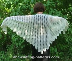 Ravelry: Project Gallery for Bruges Lace Shawl pattern by Elaine Phillips Crochet Scarves, Crochet Shawl, Free Crochet, Knit Crochet, Knitting Projects, Knitting Patterns, Sewing Patterns, Crochet Patterns, Bruges Lace