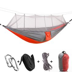Sea to Summit Red antimosquitos para camping