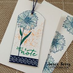 Stampin' Up! Touches of Texture Hello Annual Blog Hop