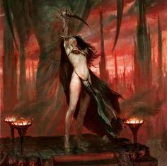 Warhammer Age of Sigmar | Daughters of Khaine Artwork http://wellofeternitypl.blogspot.com #artwork #art #aos #warhammer #ageofsigmar #sigmar #arts #artworks #gw #gamesworkshop #wellofeternity #wargaming #wallpaper