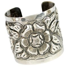 Large TOBIAS Mexican Silver Cuff