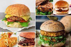 20 hambúrgueres deliciosos que não são feitos com carne