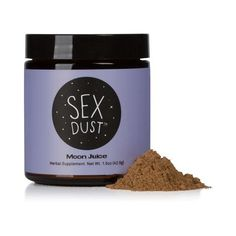 Sex Dust by Moon Juice Endorphin Release, Beauty Dust, Organic Cacao Powder, Moon Juice, Moon Dust, Stevia, Herbalism, The Cure, Protein Isolate