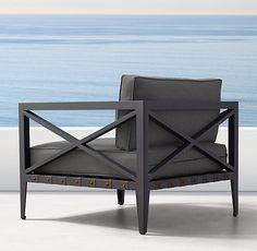 Mustique Aluminum Lounge Chair