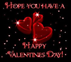 Hope you have a Happy Valentines Day love kiss red candy heart chocolate roses romance valentine's day cupid