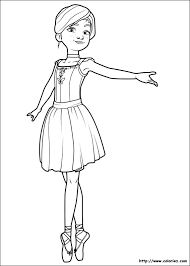 16 best ballet coloring pages images