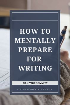 Do you need help mentally preparing for writing? Do you get too distracted or discouraged to get it out on the page? Check out this article for ideas on how to prep your brain space for writing. Writing tips | author productivity | writing resources