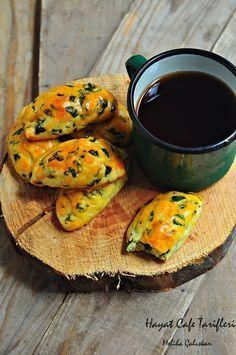 Ispanaklı Poğaça Tarifi | Hayat Cafe Kolay Yemek Tarifleri
