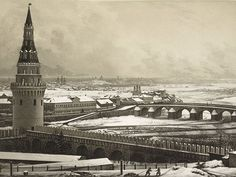 Tourist photography- Moscow. Unknown photographer, c. 1841