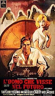 Time Machine Spanish movie poster