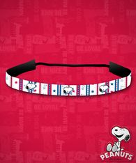 Peanuts - American Snoopy Stay-Put Headband