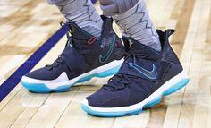 half off d6167 85794 LeBron James debuts the Nike LeBron 14