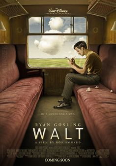 ryan gosling as walt disney. by ron howard. MY GOODNESS.