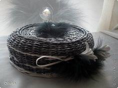Поделка изделие Бумагопластика Плетение Цветы и мех есть описание Бумага Мех Трубочки бумажные фото 2