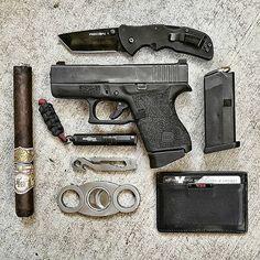by @libertatem_arma #cigarsandguns #cigars #guns #puffpuffpewpew