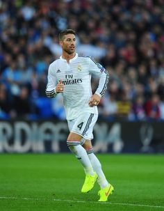 Sergio Ramos - Real Madrid v Sevilla, 12th August 2014 - UEFA Super Cup