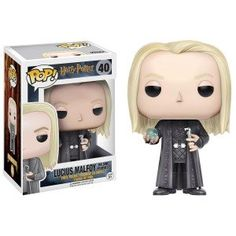 Figurine POP Harry Potter Lucius with Prophecy (Exclusive)